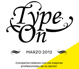 type on valladolid 2012 talleres diseño tipografia creatividad social media