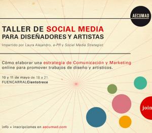 Taller Social Media Artistas y Diseñadores AECUMAD