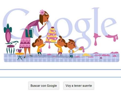 Google Doodle Día de la Madre