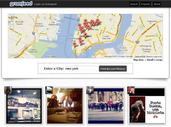 Localiza imágenes a través de geolocalización.
