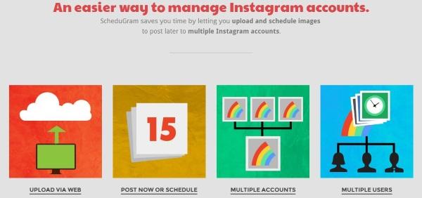 Programa fotos en Instagram directamente desde tu ordenador.