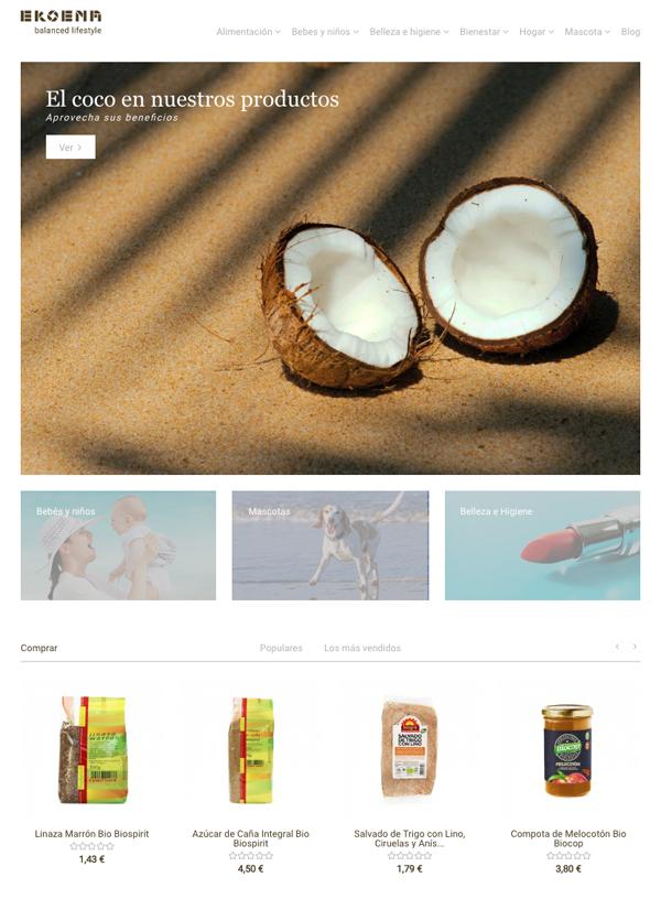 web productos sostenibles